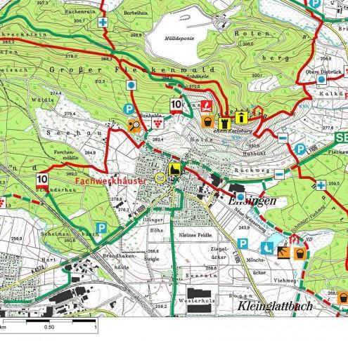 Karte-Eselsburgturm
