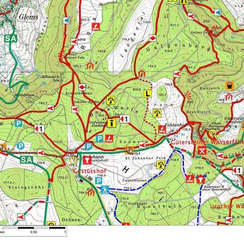 Karte-HoheWarteTurm