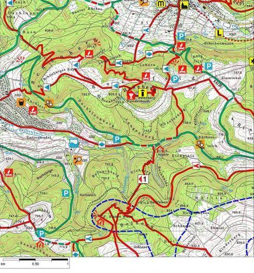 Karte-Rossbergturm