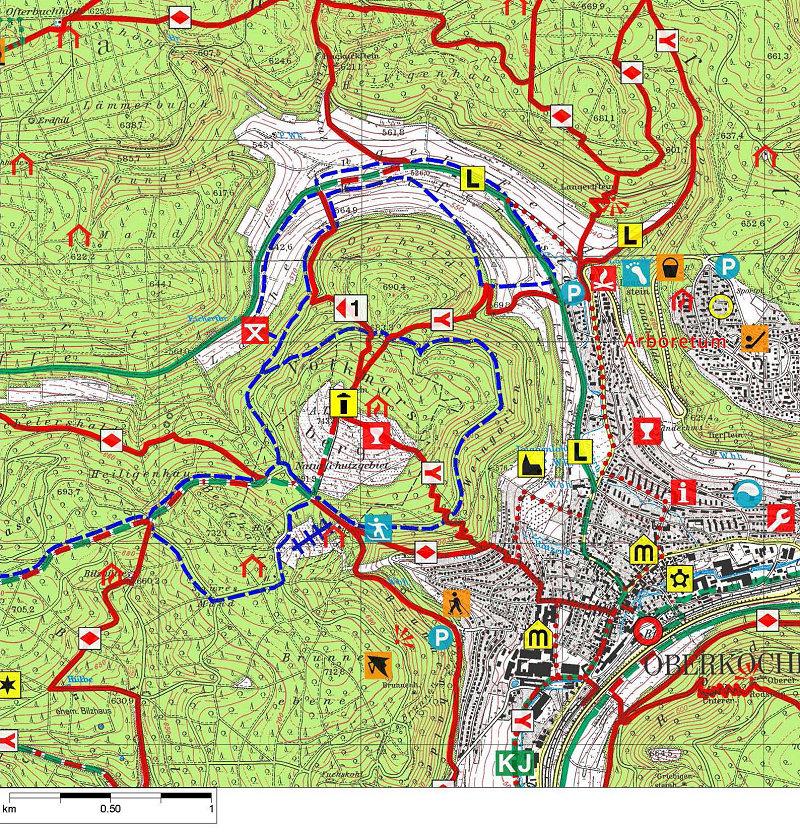 Ostalbkreis Karte.Volkmarsbergturm Bei Oberkochen Ostalbkreis Schwäbischer